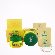 Temulawak - Cream Temulawak Original - Paket Temulawak Cream, Sabun dan Bedak