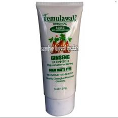 Ginseng Cleanser Rejuvenation Whitening 120ML. Temulawak Ginseng Cleanser Rejuvenation Whitening 120ML.