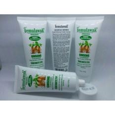 Temulawak Ginseng Cleanser Whitening Malaysia - Facial Foam Temulawak - 120gr