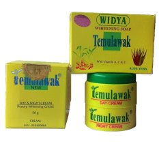 Diskon Temulawak Paket Cream Holo Emas Emboss Temulawak 100 Original Temulawak