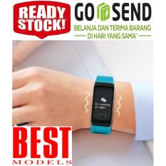 Tensimeter Digital Smart Watch Tensi Meter Digital Tangan Alat Ukur Tekanan Darah Denyut Jantung Pedometer Penghitung Langkah Pengukur Kalori Smart Watch Best Model Promo Beli 1 Gratis 1
