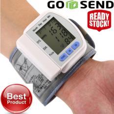Jual Tensi Meter Tangan Alat Test Pengukur Tekanan Darah Tensimeter Digital Dan Pengukur Detak Jantung Alat Ukur Tekanan Darah Branded Murah