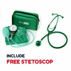 Harga Tensimeter Manual Onemed Tensi 200 Hijau Free Stetoskop Terbaik