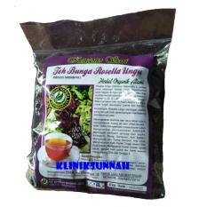 TERBARU Herbal Teh Rosella Curah Bunga Rosela Ungu Kencono Sari Kemasan Baru