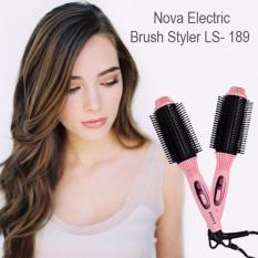 High Quality NOVA Catok Sisir Blow Rambut  Bergelombang Model LS-189 / Blow Rambut & Keriting Rambut