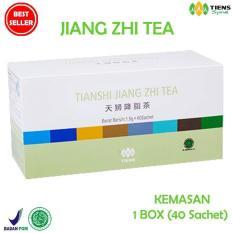 Jual Terbukti Tiens Jiang Zhi Tea Teh Hijau Pelangsing Herbal Paket Hemat 40 Sachet Di Bawah Harga