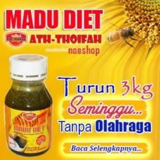 Harga Terlaris Madu Diet Pelangsing Ath Thoifah Original Asli Obat Herbal Langsing Detox Sehat Fullset Murah