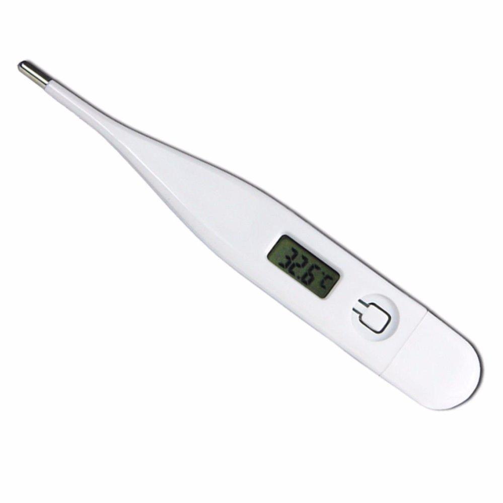 Thermometer Digital Omron MC-245. Source · Bentuk yang mungil Termometer  Digital - Alat Deteksi Suhu Tubuh - Putih 1 Pcs a80244d1acfc9