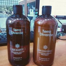 Terra Diverde Sinergia Conditioner 500 mL & Shampoo 500 mL Luxurious Keratin Treatment