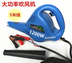 The 12 vs 1200 W big power electricity blows dust machine to roast a computer in addition to the dust machine agriculture is harvested water tank hair dryer with the car - intl