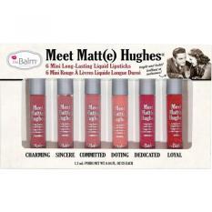 Spesifikasi Lucky The Balm Meet Matt E Hughes® Set Of 6 Mini Long Lasting Liquid Lipsticks Universal Terbaru