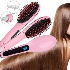 Harga The Best Hair Brush Electric Comb Hair Straightener Sisir Catok Ion 2 In 1 Catokan Sisir Listrik Ion Merk 7 Star