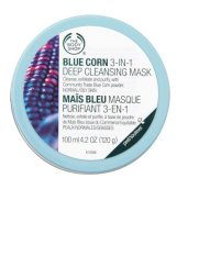 Beli The Body Shop Blue Corn 3In1 Purifying Scrub Mask 100Ml Dengan Kartu Kredit