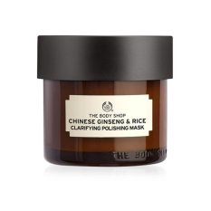 Ulasan Mengenai The Body Shop Chinese Ginseng Rice Clarifying Peling Mask 80Ml