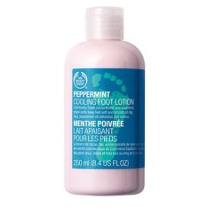 Harga The Body Shop New Peppermint Cooling Foot Lotion 250Ml Yang Bagus