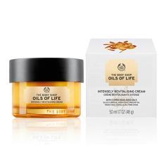 Harga The Body Shop Oils Of Life Intensely Revitalising Cream 50Ml Merk The Body Shop