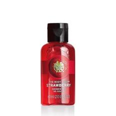 The Body Shop Reno Strawberry Shower Gel 60Ml Diskon Akhir Tahun