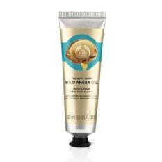 Toko The Body Shop Reno Wild Argan Oil Hand Cream 30Ml Banten