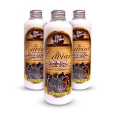 The Caviar Shampoo Shampo Kuda Menguatkan Dan Menebalkan Rambut 250Ml 3Pcs Terbaru
