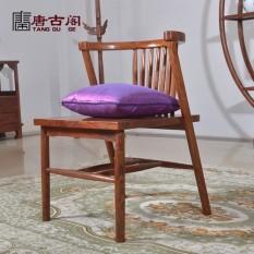 Langsung Jual dari Pabrik Rumah Tang Gu Ge Cina Tea Set Jian Yue Sisir Kursi Rekreasi Klasik kayu Polos Yang Nyaman Menghabiskan Pear Tenon Mao Struktur-Internasional