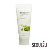 Toko The Face Shop Herb365 Cleansing Foam Mungbeans 170Ml Online Terpercaya
