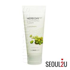 Harga The Face Shop Herb365 Cleansing Foam Mungbeans 170Ml Baru