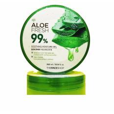 Harga The Face Shop Jeju Aloe Fresh Soothing Gel Aloe 99 300Ml Termurah
