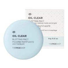 Jual Beli The Face Shop Oil Clear Blotting Pact 9Gr Anti Sebum Di North Sumatra