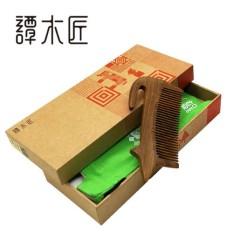 Kotak Hadiah Catatan Tukang Kayu Tan Sisir Wang Xing Ren Sisir Kayu Kreativitas Indah Hadiah Kirim Gadis baru Produk Tersedia Di Pasar-Internasional