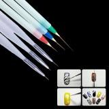 Beli Barang Harga Terendah Kecantikan Ready Stok 6 Pcs Nail Art Design Painting Pen Polish Brush Trendy Halus Fashion Intl Online