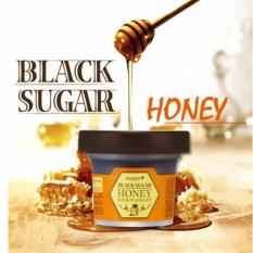 Toko The Skin Food Black Sugar Honey Mask Wash Off Online Indonesia
