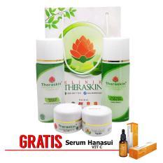 Toko Theraskin Acne Glow White Oily Paket Theraskin Glowing Untuk Kulit Berminyak Dan Berjerawat Gratis Serum Vit C Lengkap Jawa Barat