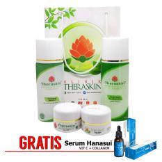 Diskon Theraskin Acne Glow White Oily Paket Theraskin Glowing Untuk Kulit Berminyak Dan Berjerawat Gratis Serum Vit Collagen Theraskin