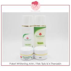 Situs Review Theraskin Orginal Paket Perawatan Whitening Aha Flek Tipis