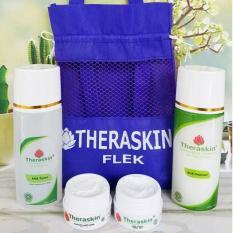 Diskon Theraskin Paket Bpom Cream Perawatan Kulit Untuk Acne Glowing Flek Normal Sensitif Oily Theraskin Dki Jakarta