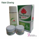 Jual Theraskin Paket Glowing Paket Cream Pencerah 3 In 1 Indonesia