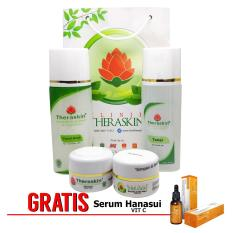 Top 10 Theraskin Whitening Glowing Normal Skin Paket Theraskin Glowing Untuk Kulit Normal Gratis Serum Vit C Online