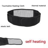 Cuci Gudang Thermal Self Heating Magnetic Pinggang Alami Belt Pain Relief Kembali Lumbar Dukungan Terapi Internasional