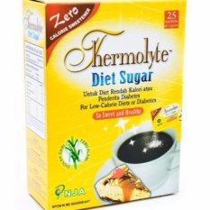 Beli Delin Store Thermolyte Diet Sugar 50 S 2 Box Gula Rendah Kalori Gula Diabetes Bisa Cod Pharos Online