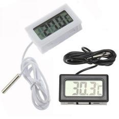 Termometer Digital Dengan Kabel 1 m / Termometer Suhu Ruangan / Thermometer Digital / Digital Termometer Aquarium Akuarium