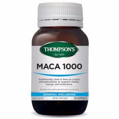 Review Thompson S Maca 1000 Mg 60 Kapsul Di Indonesia