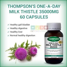 Spek Thompson S One A Day Milk Thistle 35000Mg Kesehatan Liver 60 Capsules Thompson