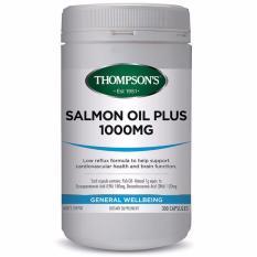 Harga Thompson S Salmon Oil Plus 1000 Mg 300 Kapsul Asli Thompson