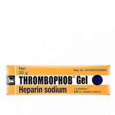 Berapa Harga Thrombophob Gel 20 Gr Obat Menyembuhkan Bengkak Keseleo Memar Di Dki Jakarta