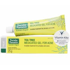 Promo Toko Thursday Plantation Tea Tree Medicated Gel For Acne 25Gr