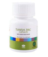 Spesifikasi Tianshi Suplemen Zinc Penambah Berat Badan 60 Kapsul Online
