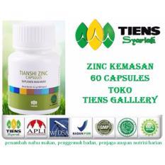 Tien Zinc-VIRAL...!!!Kemasan 60 kapsul Penggemuk Badan Alami untuk anak dan dewasa