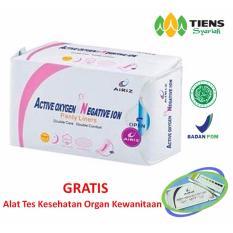 Review Tentang Tiens Airiz Panty Liner Kesehatan Paket Promo 1 Panty Free Member Card Th