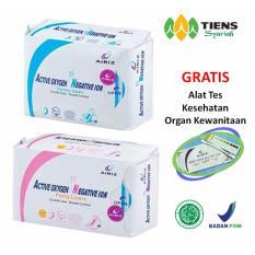 Harga Tiens Airiz Pembalut Kesehatan Untuk Malam Paket Hemat 1 Night 1 Panty Member Card Th Murah