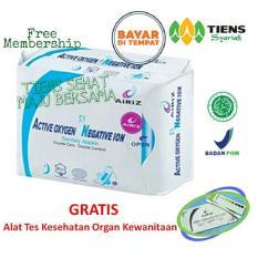 Review Tiens Airiz Pembalut Kesehatan Untuk Malam Paket Promo